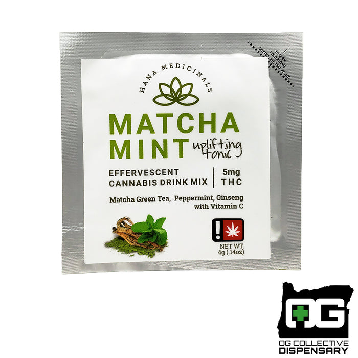 MATCHA MINT THC DRINK MIX - HANA MEDICINALS [CR]