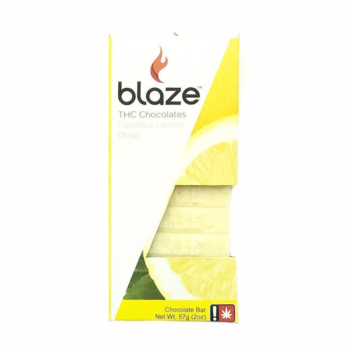 BLAZE : LEMON DROP Chocolate Bar [CR]