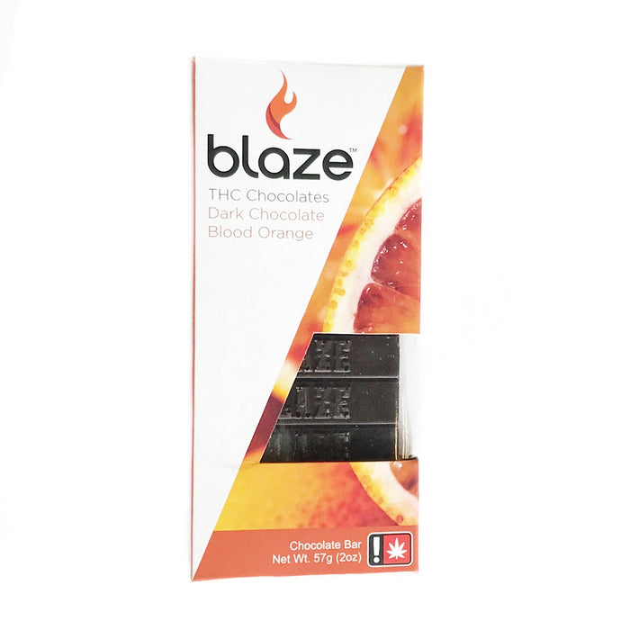 BLAZE : BLOOD ORANGE Dark Chocolate Bar [CR]