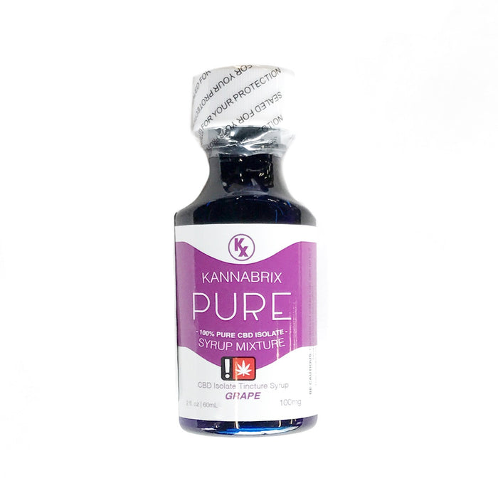 KANNABRIX : GRAPE PURE CBD Syrup [MO]