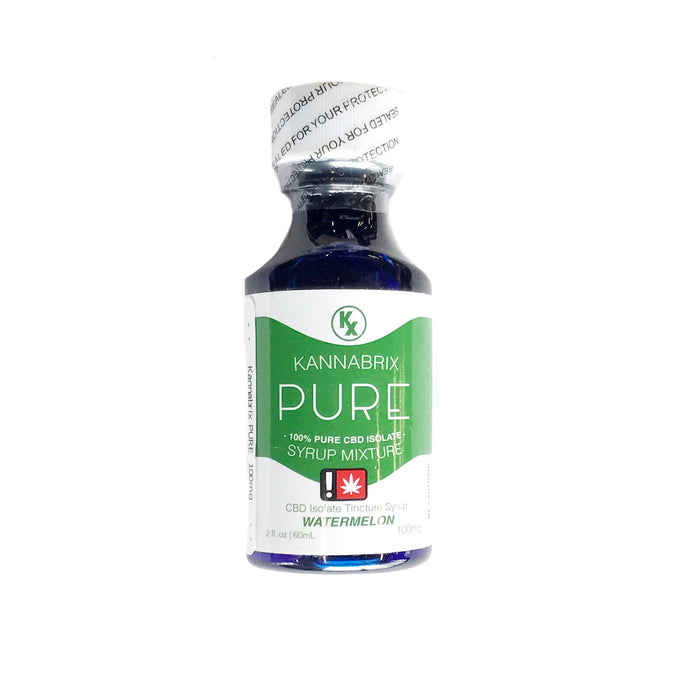 KANNABRIX : WATERMELON PURE CBD Syrup [CR]