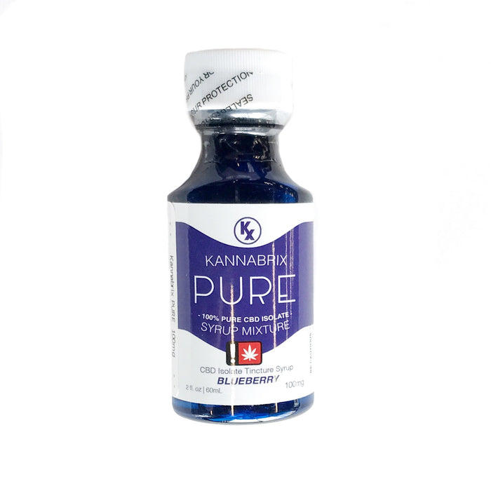 KANNABRIX : BLUEBERRY PURE CBD Syrup [CR]
