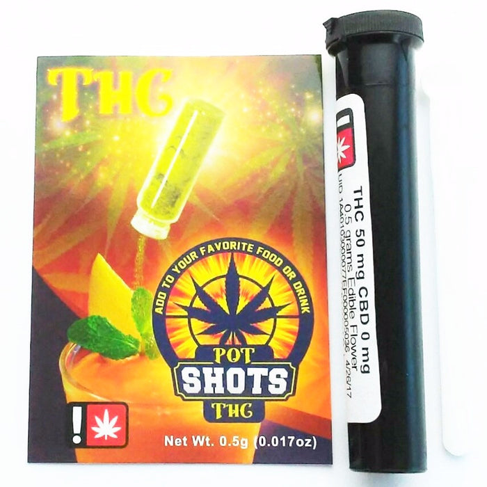 POT SHOTS : THC [CR]