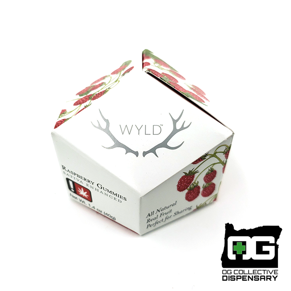 WYLD : RASPBERRY GUMMIES 10-Piece [MO]