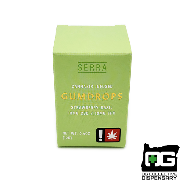 SERRA - 1:1 STRAWBERRY BASIL GUMDROPS 2pk [CR]