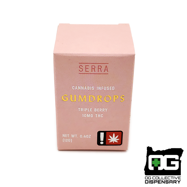 SERRA - THC TRIPLE BERRY GUMDROPS 2pk [CR]