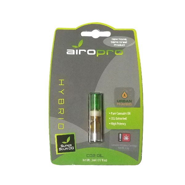 SUPER SOUR OG 1/2g CARTRIDGE from AIRO PRO [MO]