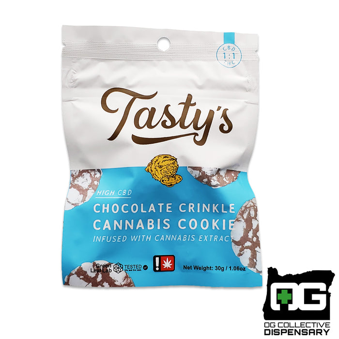 TASTY'S - CHOCOLATE CRINKLE 1:1 COOKIE [MO]