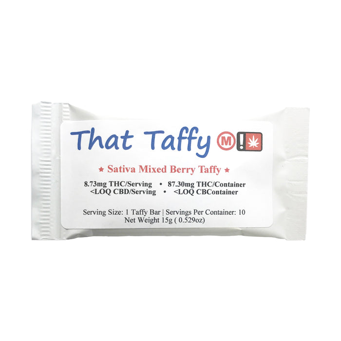 THAT TAFFY : MED SATIVA MIXED BERRY [CR]