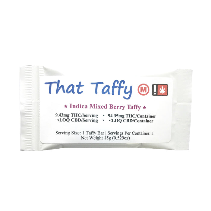 THAT TAFFY : MED INDICA MIXED BERRY [CR]