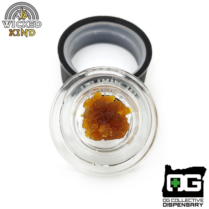 Orange Cookies BHO from OG Processing [Cultivated by Wicked Kind]