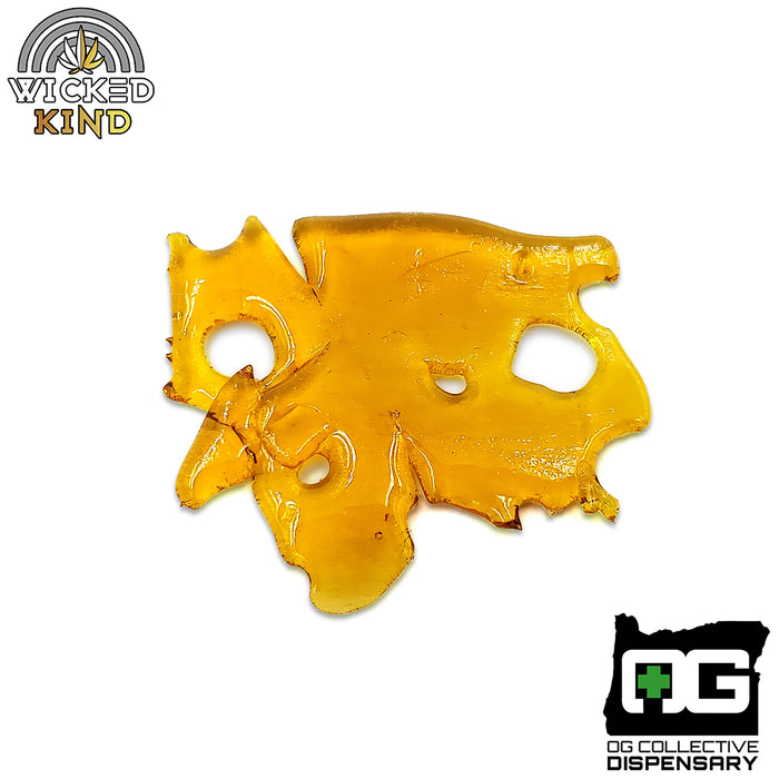 Sneeze Shatter from OG Processing // Cultivated by Wicked Kind