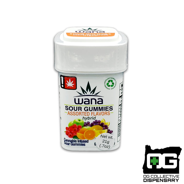 WANA - ASSORTED SOUR HYBRID GUMMIES [MO]