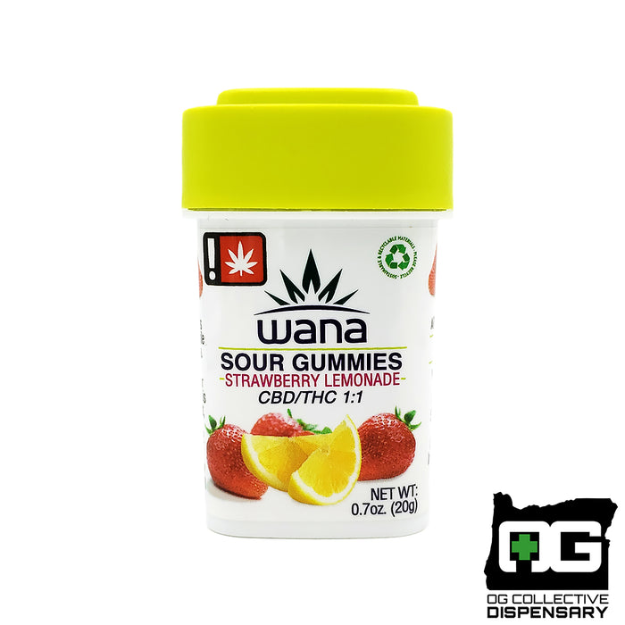 WANA - STRAWBERRY LEMONADE 1:1 GUMMIES [MO]