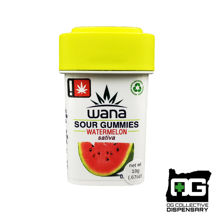 WANA - WATERMELON SATIVA GUMMIES [MO]