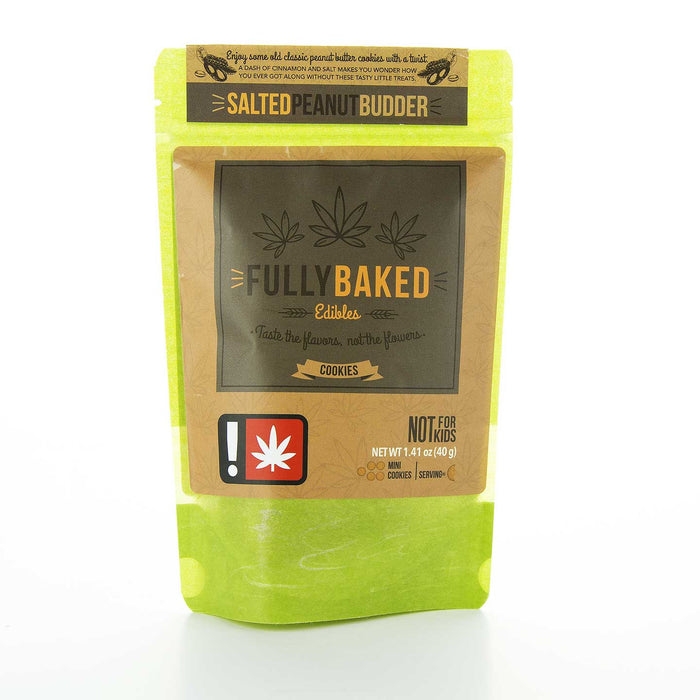 Fully Baked (Cookies) - Salted Peanut Budder  OG Collective Dispensary Salem OR