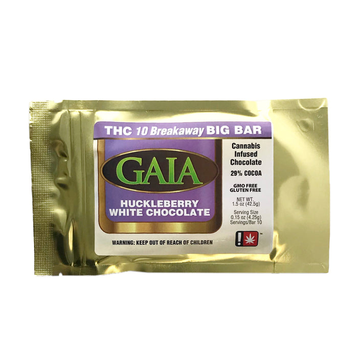 GAIA : HUCKLEBERRY WHITE CHOCOLATE Big Bar [CR]