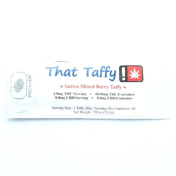 THAT TAFFY : SATIVA MIXED BERRY [CR]