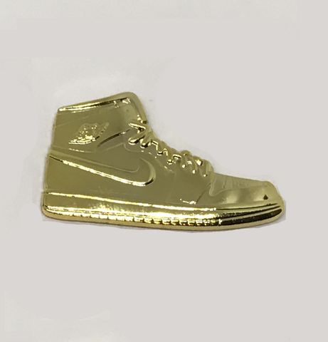 "Retro 1 Sticky Pin ""Shiny Gold"""