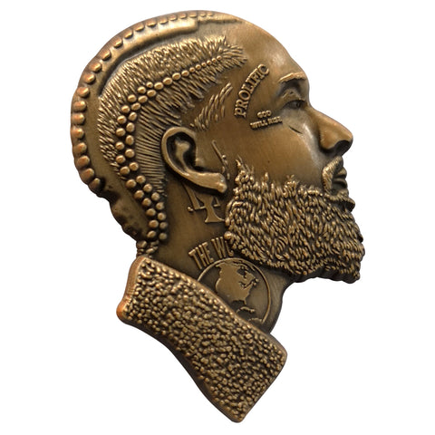 Nipsey 3D Antique Gold