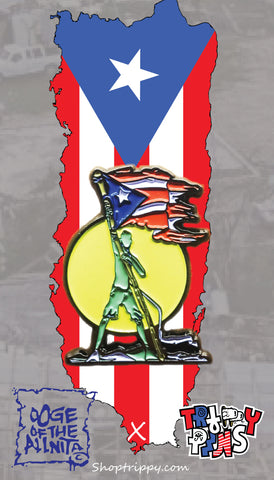 Together we stand (PR Fundraiser pin)