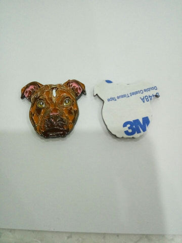 Don't Bully My Breed Rednose Sticky Pin
