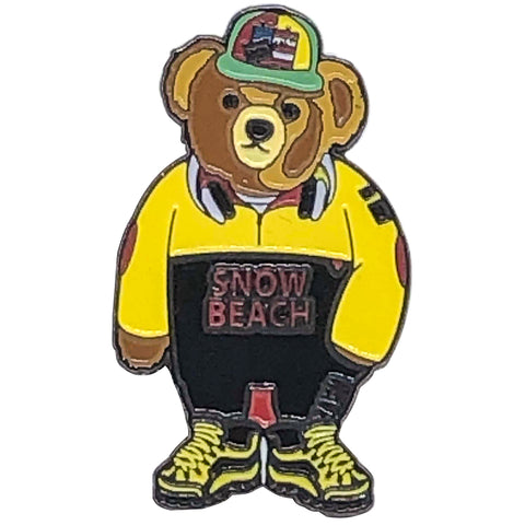 Snow Bear Yellow
