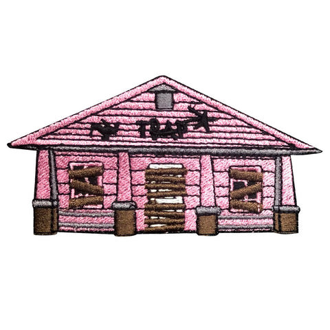 Pink Traphouse Iron-on Patch
