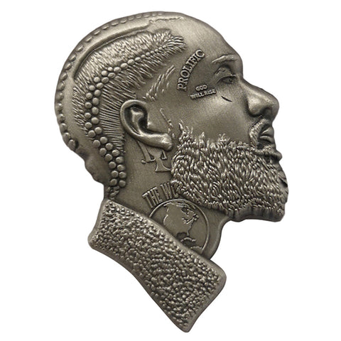 Nipsey 3D Antique Silver