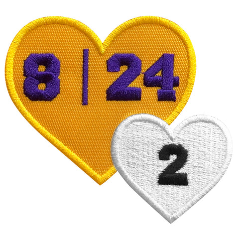 Kobe Gigi Memorial patch