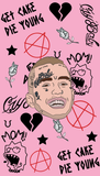 Lil Peep Crybaby Pin