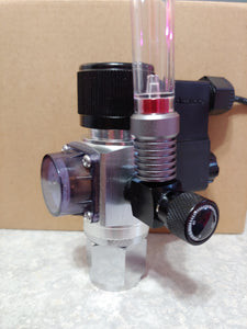 NA Aquarium Mini CO2 Regulator with Solenoid and Bubble Counter