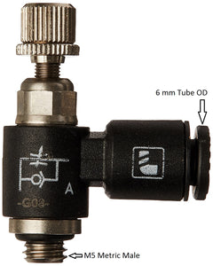 Air Flow Control Valve- 90 Degree Elbow