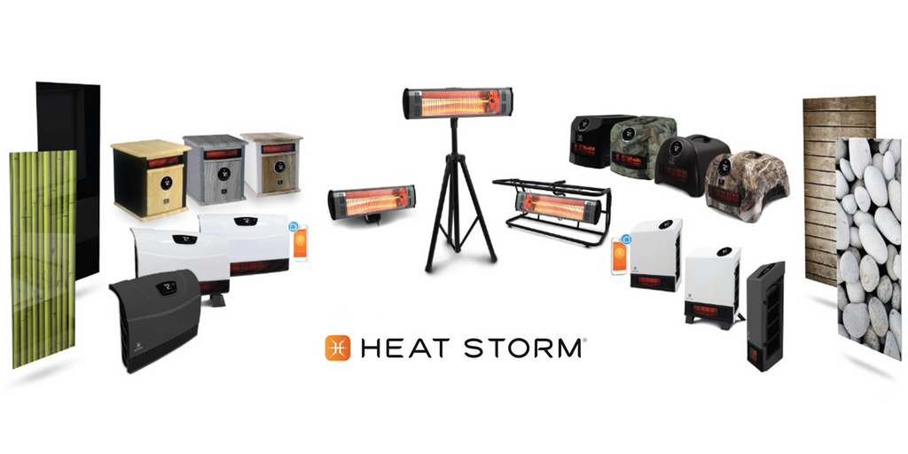 heat storm infrared heater banner