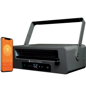 HS-6000-GC 6000 watt garage heater with wifi capabilities including set schedules and remote access