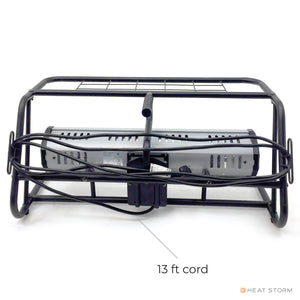 1500 Watt Garage Heater + Roll Cage Combo