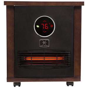1500 Watt infared space heater. Very stylish heater for indoors.