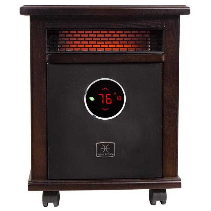 1500 Watt ~ Infrared Space Heater ~ Deluxe Cabinet