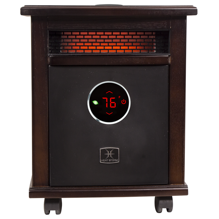 1500 Watt ~ Infrared Space Heater ~ Deluxe Cabinet ~ with speaker