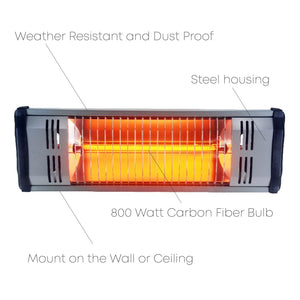 Artisan 800 W Infrared Heater