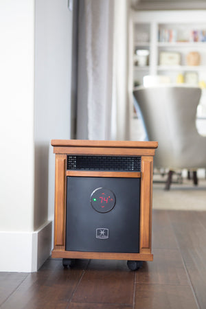 1500 Watt ~ Infrared Space Heater ~ Classic Cabinet ~ Wifi Enabled