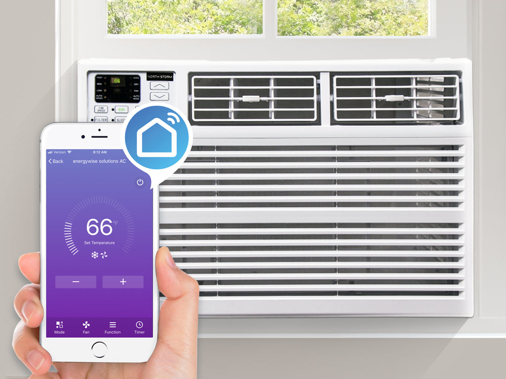 12000 BTU Smart Air Conditioner. WIFI capable air conditioner.