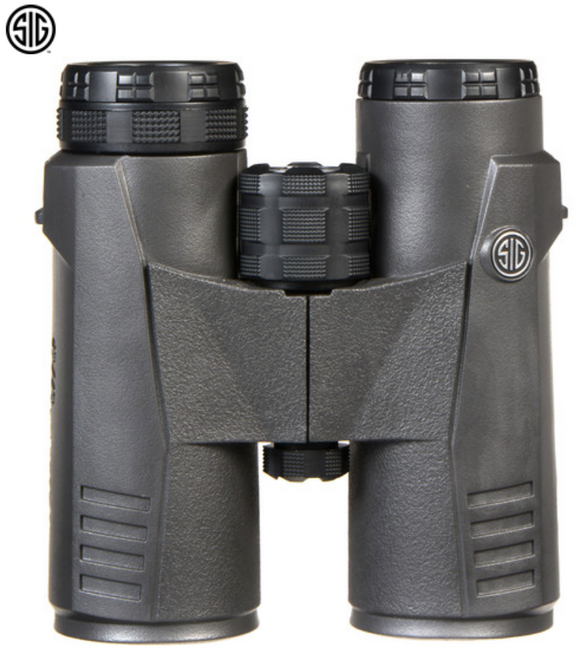 Sig Sauer Zulu5 Binoculars 8x42mm, 10x42mm, HD Lens, Closed Bridge, Black