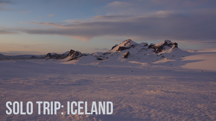Solo Trip to Iceland