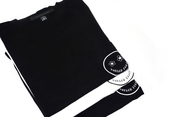 Well Timed-Pocket Tee