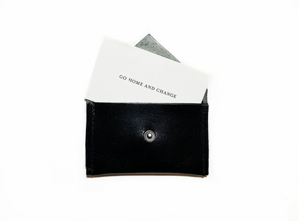 Card Holder II - Patent Black