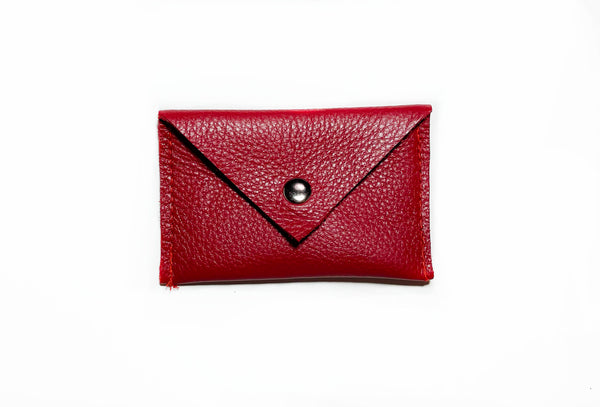 Card Holder- Engine Red