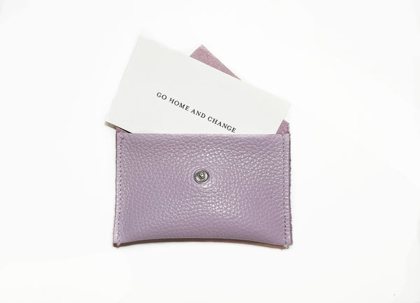 Card Holder- Mauve
