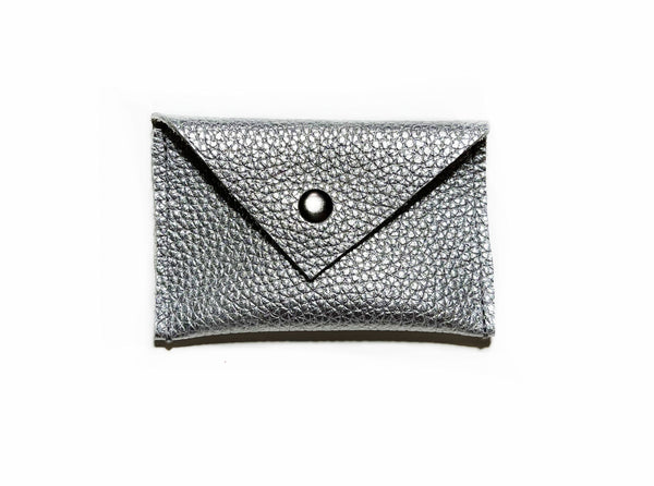 Card Holder- Metallic Silver