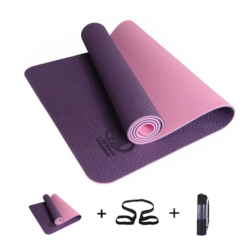 Yoga Mats 3 In 1 Include Yoga Mat Bag And Rope Cool Crazy Yoga Store